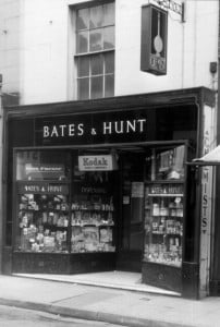 Bates and Hunt 14 Market Square May 1960
