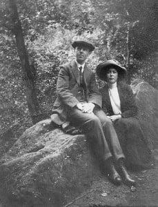 Sydney and Emily 1912 Wellington