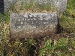 Hickman children's grave
