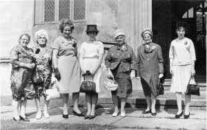 Watkins women at a 60s wedding.