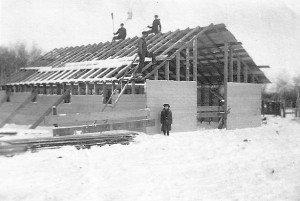 Oak River wooden building 1