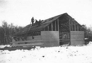 Oak River wooden building 2